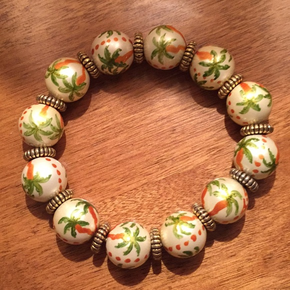Angela Moore Jewelry - Angela Moore palm tree bracelet